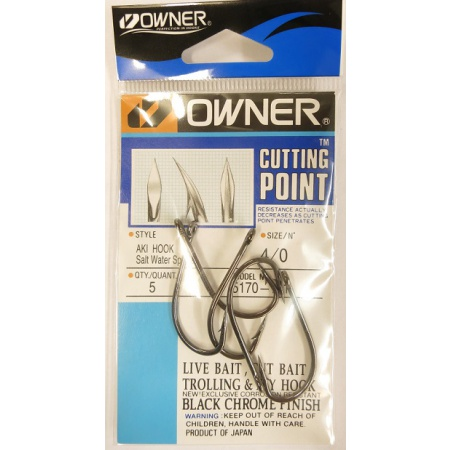 Owner Saltwater Aki hook 5170