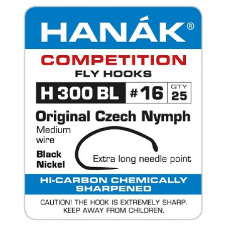 Hanak H300BL Orginal Czech Nymph