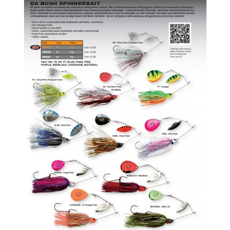 Da'Bush Spinnerbait 32g