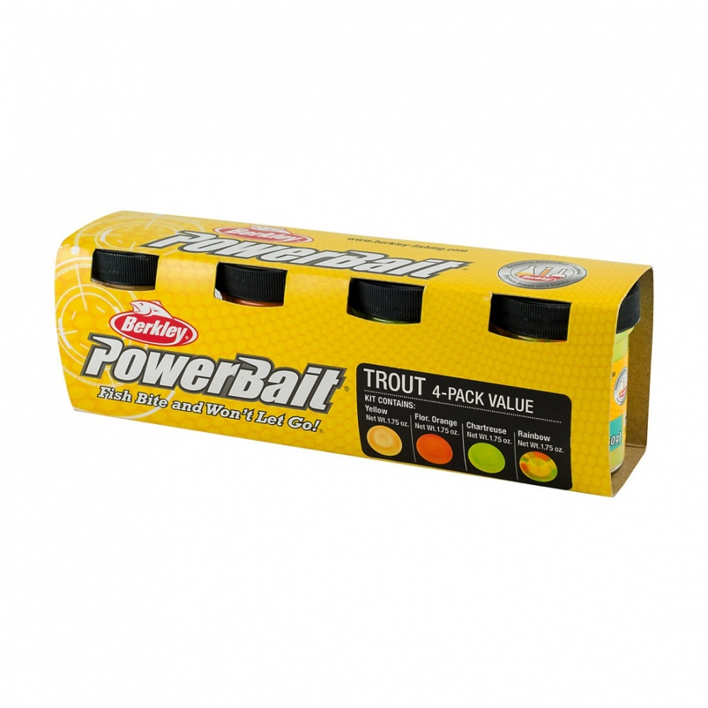 PowerBait Trout 4-pack tahnalajitelma